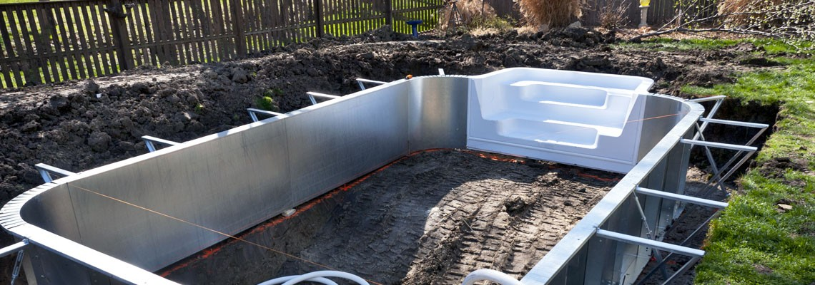 Diy swimming pool construction, busch gardens ezpay, mosaic ...
